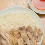 【海南鶏飯】をルクルーゼの鍋で、手抜きの限界にチャレンジ!