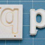 3Dプリンタでつくった型でうまく部品を分離させるための処理をいろいろ試してみました